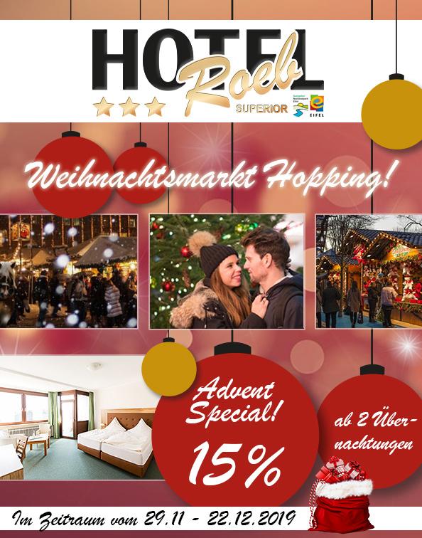 ADVENTSPECIAL: Weihnachtsmarkt-Hopping!